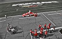 Qualifying, Casey Atwood, Dodge, Daytona 500, Daytona International Speedway, Daytona Beach, FL, February 18, 2001.  (Photo by Brian Cleary/ www.bcpix.com )