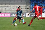 Mounir Bouziane am Ball beim Spiel in der 3. Liga, SV Waldhof Mannheim - FSV Zwickau.<br /> <br /> Foto © PIX-Sportfotos *** Foto ist honorarpflichtig! *** Auf Anfrage in hoeherer Qualitaet/Aufloesung. Belegexemplar erbeten. Veroeffentlichung ausschliesslich fuer journalistisch-publizistische Zwecke. For editorial use only. DFL regulations prohibit any use of photographs as image sequences and/or quasi-video.