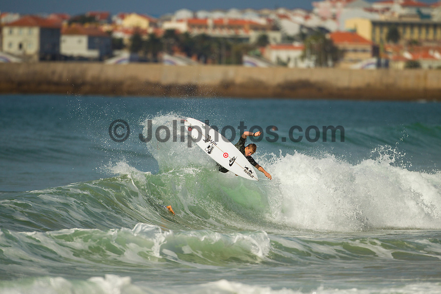 SUPERTUBOS, Peniche/Portugal (Monday, October 15, 2012) Kolohe Andino (USA). - The Rip Curl Pro Portugal was put on hold for most of the morning today giving some of the Top 34 a chance to free surf the waves on offer at Supertubes..Photo: joliphotos.com