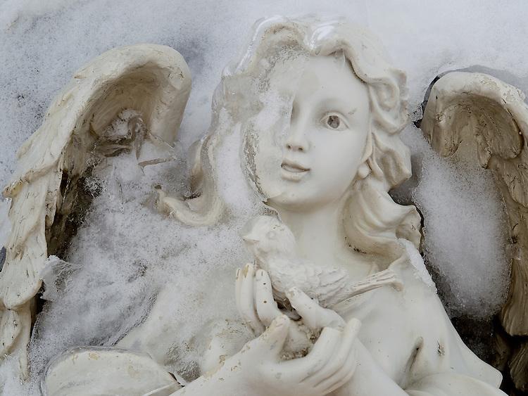 Americana.<br /> <br /> Cemetery angel, Dayton, Ohio.