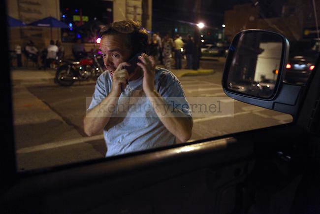 Steve Radar picks up people on Saturday night, Sept 12, 2009