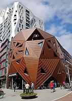 De nieuwe  Pauluskerk in Rotterdam. Opvang voor daklozen, illegalen en vluchtelingen
