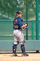 Ryan Query of the Gulf Coast League Braves during the game against the Gulf Coast League Tigers July 3 2010 at the Disney Wide World of Sports in Orlando, Florida.  Photo By Scott Jontes/Four Seam Images