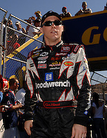 Nov 13, 2005; Phoenix, Ariz, USA;  Nascar Nextel Cup driver Kevin Harvick prior to the Checker Auto Parts 500 at Phoenix International Raceway. Mandatory Credit: Photo By Mark J. Rebilas