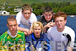 Killorglin RC crew at the Caherciveen Regatta on Sunday was l-r: Sean Deinum, Mikey McKenna, Deirdre O'Donoghue, David Richards and Pieter Homan   Copyright Kerry's Eye 2008