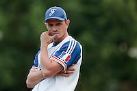 14 July 2010: Assistant coach Fabien Proust of Team France is seen during day 2 of the Open de Rouen, an international tournament with Team France, Team Saint Martin, Team All Star Elite, at Stade Pierre Rolland, in Rouen, France.