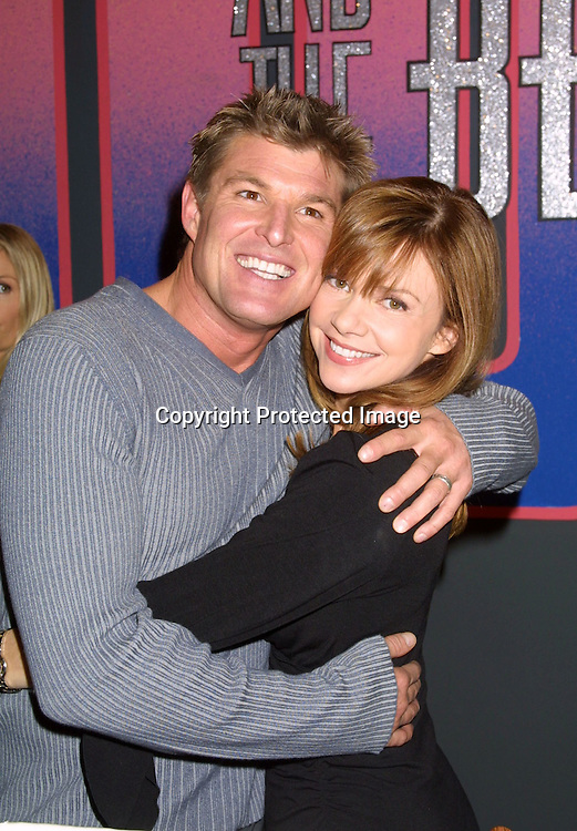 ©2003 KATHY HUTCHINS /HUTCHINS PHOTO.BOLD AND THE BEAUTIFUL.4000 SHOW CELEBRATION.CBS TELEVISION CITY.LOS ANGELES, CA.FEBRUARY 6, 2003.WINSOR  HARMON  AND BOBBY EAKES