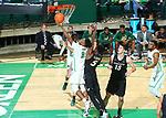 DENTON, JANUARY 4: University of North Texas Mean Green Men's Basketball v Charlotte at Super Pit - North Texas Coliseum on January 4, 2018 in Denton Texas. (Photo: (Rick Yeatts Photography / Rick Yeatts )