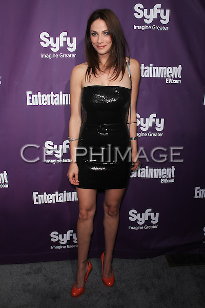 JOANNE KELLY.arrives to the annual Entertainment Weekly and Syfy Party in conjunction with Comic-Con 2010 at the Hotel Solamar. San Diego, CA, USA.July 24, 2010. ©CelphImage