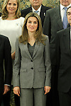 Princess Letizia of Spain attends audiences with a representation of the Royal Cavalry of Valencia (Real Maestranza de Caballeria de Valencia).January 10 ,2012. (ALTERPHOTOS/Acero)