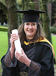 20/1/2015   (with compliments)  Attending the University of limerick conferrings on Monday morning was Oonagh Jones, Askeaton who was conferred with an MSc in Equine Science.<br /> Picture Liam Burke/Press 22