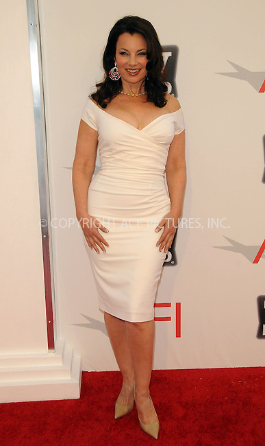 WWW.ACEPIXS.COM . . . . .  ....June 9 2011, Los Angeles....Fran Drescher arriving at the 2011 AFI Lifetime Achievement Awards honoring Morgan Freeman held at Sony Picture Studios on June 9, 2011....Please byline: PETER WEST - ACE PICTURES.... *** ***..Ace Pictures, Inc:  ..Philip Vaughan (212) 243-8787 or (646) 679 0430..e-mail: info@acepixs.com..web: http://www.acepixs.com