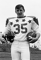 Ted Gerela 1970 Canadian Football League Allstar team. Copyright photograph Ted Grant