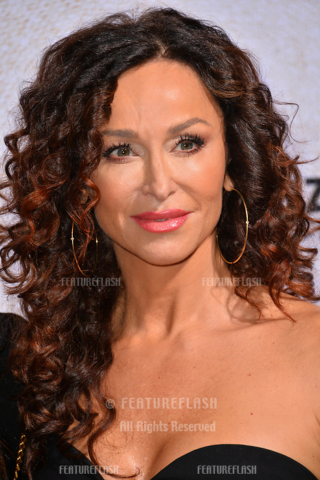 "LOS ANGELES, CA. October 24, 2018: Sofia Milos at the Los Angeles premiere for ""Suspiria"" at the Cinerama Dome.<br /> Picture: Paul Smith/Featureflash"