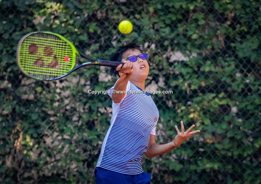 Hilversum, Netherlands, August 6, 2018, National Junior Championships, NJK, Jessy Tan (NED)<br /> Photo: Tennisimages/Henk Koster