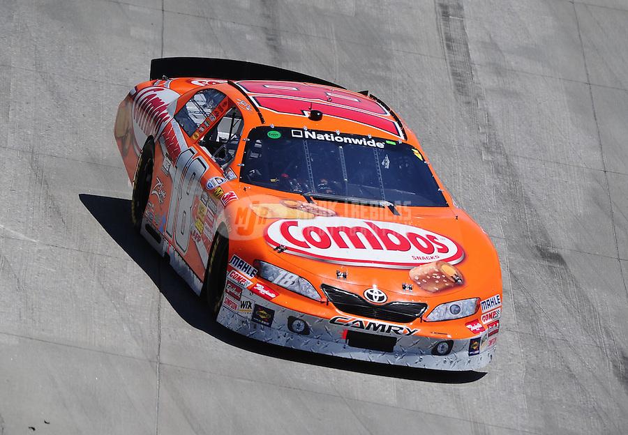May 15, 2010; Dover, DE, USA; NASCAR Nationwide Series driver Kyle Busch during the Heluva Good! 200 at Dover International Speedway. Mandatory Credit: Mark J. Rebilas-