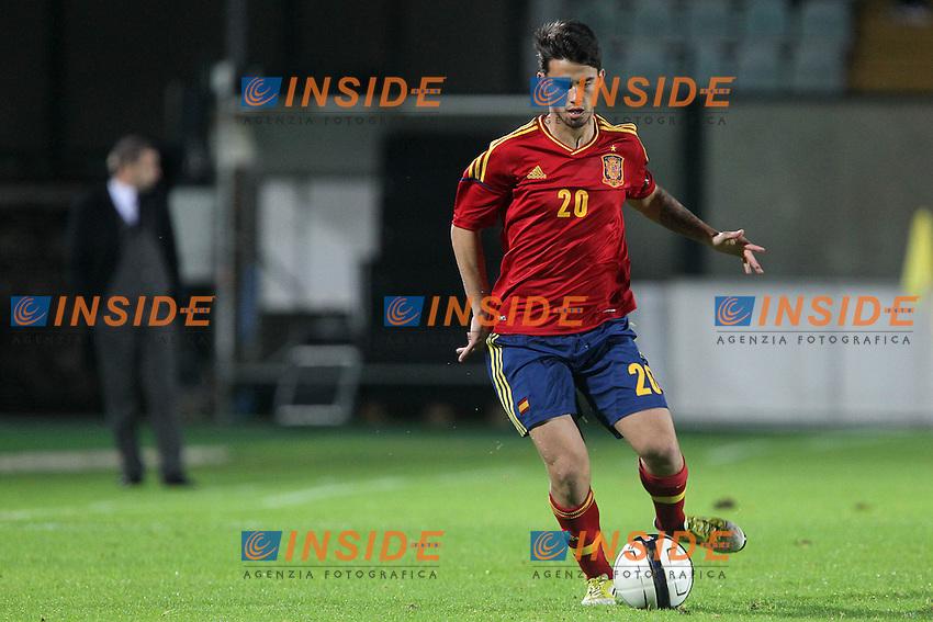 """Suso.Siena 13/11/2012 Stadio """"Franchi"""".Football Calcio Nazionale U21.Italia v Spagna.Foto Insidefoto Paolo Nucci."""