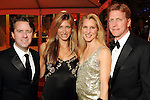 From left: Michael and Melissa Mithoff with Paula and Jeff Paine at the Do You Believe in Magic Gala at the Houston Museum of Natural Science Saturday March 6,2010. (Dave Rossman Photo)
