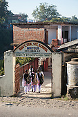 Himachal Pradesh, India. Government Senior Secondary School, Matour, between Dharamsala and Shimla.
