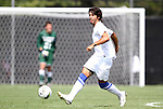 04 September 2011: Duke's Jonathan Aguirre. The Southern Methodist University Mustangs defeated the Duke University Blue Devils 1-0 in overtime at Koskinen Stadium in Durham, North Carolina in an NCAA Division I Men's Soccer game.