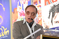 Peter Bogdanovich at the the Hollywood Walk of Fame star ceremony honoring French singer Charles Aznavour on Hollywood Boulevard, USA 24 Aug. 2017<br /> Picture: Paul Smith/Featureflash/SilverHub 0208 004 5359 sales@silverhubmedia.com