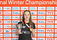 Picture by Allan McKenzie/SWpix.com - 13/12/2017 - Swimming - Swim England Winter Championships - Ponds Forge International Sport Centre - Sheffield, England - Pia Murray.