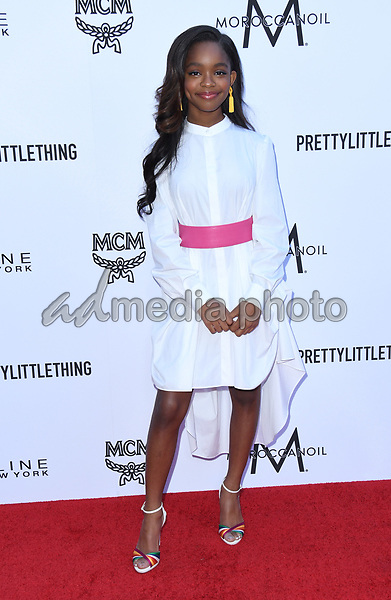 08 April 2018 - Beverly Hills, California - Marsai Martin. The Daily Front Row's 4th Annual Fashion Los Angeles Awards held at The Beverly Hills Hotel. Photo Credit: Birdie Thompson/AdMedia