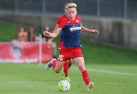 Boyds, MD - Saturday July 02, 2016: Joanna Lohman during a regular season National Women's Soccer League (NWSL) match between the Washington Spirit and FC Kansas City at Maureen Hendricks Field, Maryland SoccerPlex.