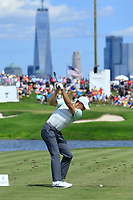 Jordan Spieth (USA) during the third round of the Northern Trust, played at Liberty National Golf Club, Jersey City, New Jersey, USA 10/08/2019<br /> Picture: Golffile | Michael Cohen<br /> <br /> All photo usage must carry mandatory copyright credit (© Golffile | Phil Inglis)