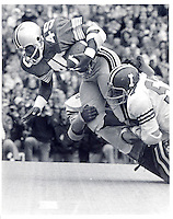OSU football October 19, 1974. Archie Griffin for yards against Indiana. (Columbus Dispatch photo by Ken Chamberlain).