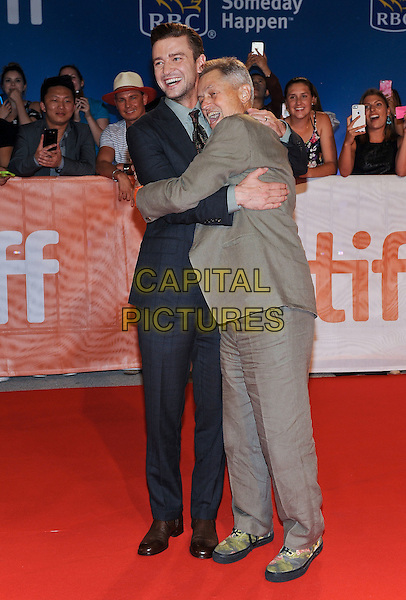 13 September 2016 - Toronto, Ontario Canada - Justin Timberlake, Jonathan Demme. &quot;Justin Timberlake + The Tennessee Kids&quot; Premiere during the 2016 Toronto International Film Festival held at TIFF Bell Lightbox. <br /> CAP/ADM/BPC<br /> &copy;BPC/ADM/Capital Pictures
