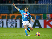 Miguel Allan of Napoli  during  Genoa -   Napoli Stadio Luigi Ferraris, Genoa, Italy; Serie A football 10th November 2018