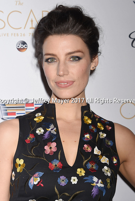 LOS ANGELES, CA - FEBRUARY 23: Actress Jessica Pare attends Cadillac's 89th annual Academy Awards celebration at Chateau Marmont on February 23, 2017 in Los Angeles, California.