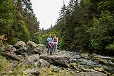 USA, Alaska, Homer, China Poot Bay, Kachemak Bay, exploring the area around the Kachemak Bay Wilderness Lodge by canoe