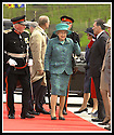 24/05/2002                   Copyright Pic : James Stewart.File Name : stewart-queen falkirk  11.QUEEN ELIZABETH II STRUGGLES TO KEEP HER HAT ON AS SHE ARRIVES AT THE FALKIRK WHEEL.....Payments to :-.James Stewart Photo Agency, 19 Carronlea Drive, Falkirk. FK2 8DN      Vat Reg No. 607 6932 25.Office     : +44 (0)1324 570906     .Mobile  : +44 (0)7721 416997.Fax         :  +44 (0)1324 570906.E-mail  :  jim@jspa.co.uk.If you require further information then contact Jim Stewart on any of the numbers above.........