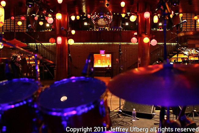 November 3, 2011 New York: Atmosphere at Hiro Ballroom on November 3, 2011 in New York.