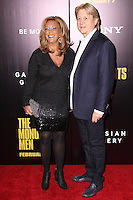 "NEW YORK, NY - FEBRUARY 04: Denise Rich, Niels Lauersen at the New York Premiere Of Columbia Pictures' ""The Monuments Men"" held at Ziegfeld Theater on February 4, 2014 in New York City, New York. (Photo by Jeffery Duran/Celebrity Monitor)"