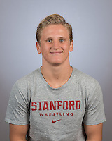 Stanford, Ca - October 11, 2016: The 2016-2017 Stanford Wrestling Team.