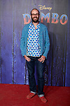 Tristan Ramirez attends to Dumbo premiere at Principe Pio Theatre in Madrid, Spain. March 27, 2019. (ALTERPHOTOS/A. Perez Meca)