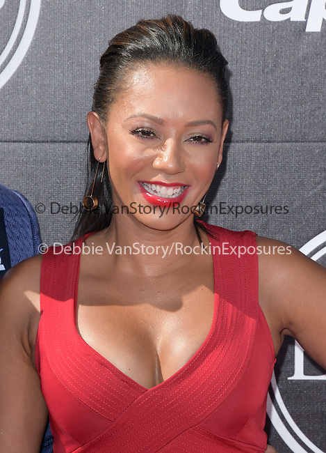 Mel B  attends The 2015 ESPY Awards held at The Microsoft Theatre  in Los Angeles, California on July 15,2015                                                                               © 2015 Hollywood Press Agency