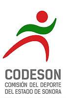 Logotipo de la CODESON, Comision Estatal del Deporte de Sonora