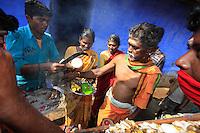 An Irula ritual in Hasanur.