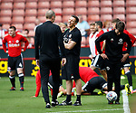 Lee Rikards fitness coach during the Championship match at Bramall Lane, Sheffield. Picture date 26th August 2017. Picture credit should read: Simon Bellis/Sportimage