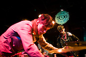 March 25, 2009. Carrboro, NC.. The Danish band, Efterklang, played a packed show at the Local 506.