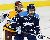 Mike Seidel (Duluth - 17), Ryan Hegarty (Maine - 44) - The University of Minnesota Duluth Bulldogs defeated the University of Maine Black Bears 5-2 in their NCAA Northeast semifinal on Saturday, March 24, 2012, at the DCU Center in Worcester, Massachusetts.