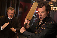 John C. Reilly &amp; Will Ferrell in Holmes &amp; Watson (2018) <br /> *Filmstill - Editorial Use Only*<br /> CAP/RFS<br /> Image supplied by Capital Pictures