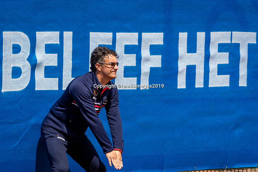 Zandvoort, Netherlands, 9 June, 2019, Tennis, Play-Offs Competition, linesman<br /> Photo: Henk Koster/tennisimages.com
