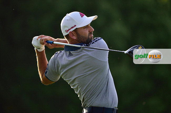 Sergio GARCIA (ESP) during Sunday's resumed Round 3 of the 2016 U.S. Open Championship held at Oakmont Country Club, Oakmont, Pittsburgh, Pennsylvania, United States of America. 19th June 2016.<br /> Picture: Matthew Harris | TGPL | Golffile<br /> <br /> <br /> All photos usage must carry mandatory copyright credit (&copy; Golffile | TGPL | Matthew Harris)