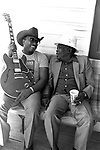 Otis Rush, John Lee Hooker.9/15/85.81-25-22A