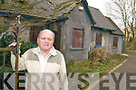 RESTORE: Cllr Tommy Foley who is calling for preservation work to be carried out on the historic Cloghers Lodge in Tralee.